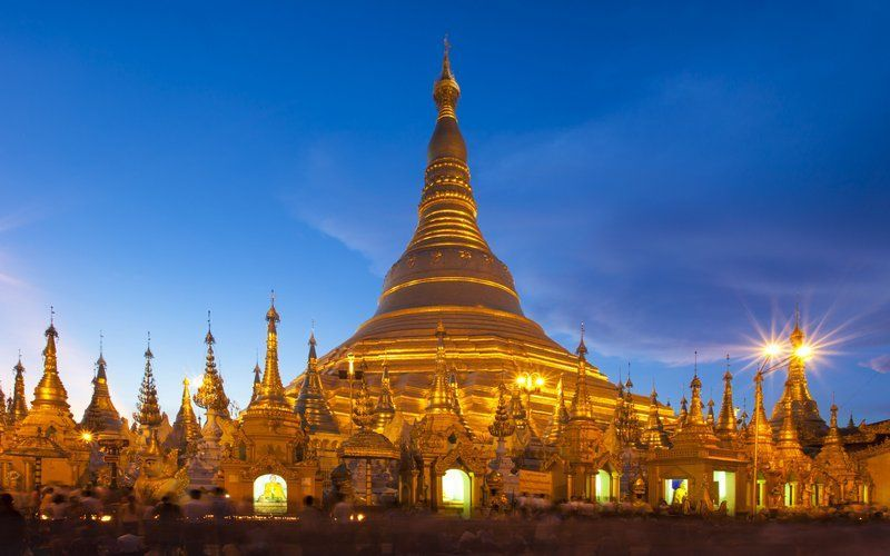 Glimpse of Myanmar Tour Photos